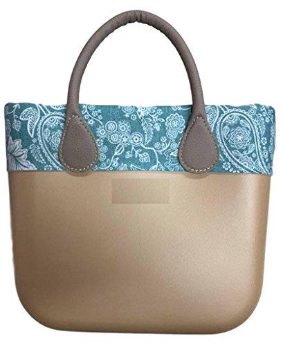 Trim Bordüre Ornament Mint - für O Bag Mini