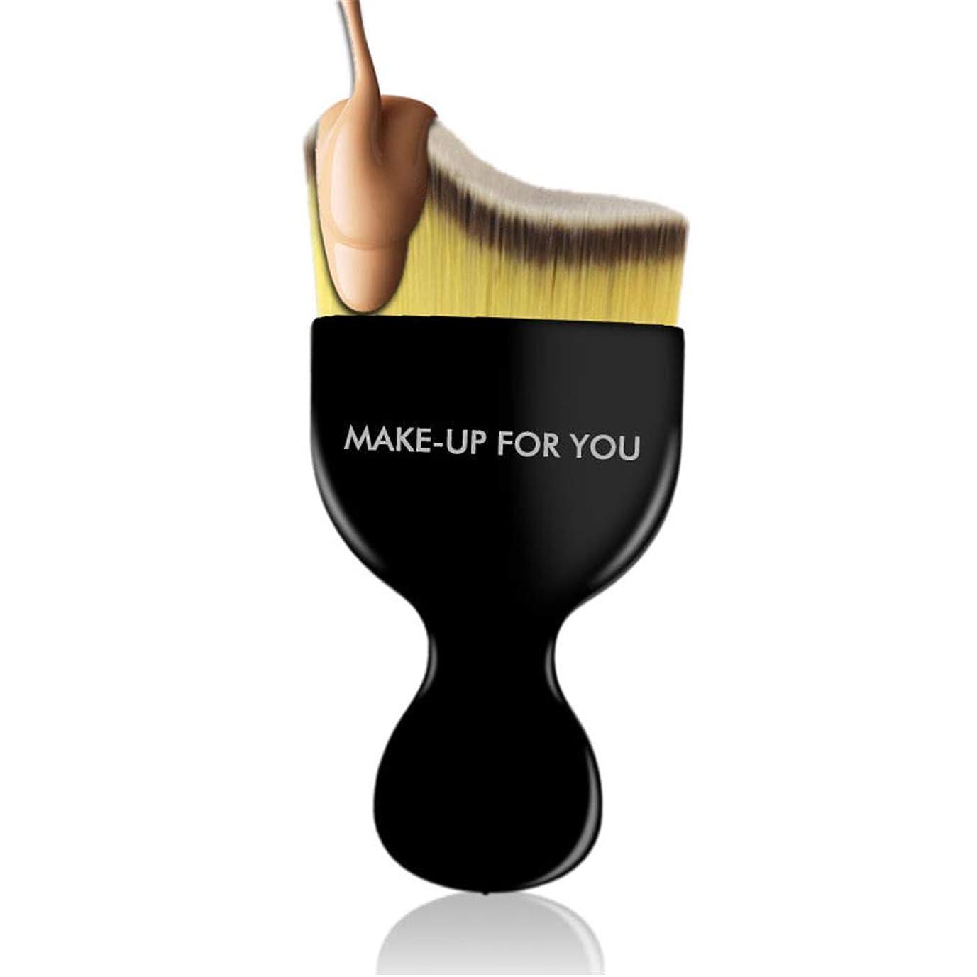 消費デッキ型PUレザー化粧筆ーチ スタイリッシュなスタイル2ピース化粧ブラシツール化粧ブラシ繊維ファンデーションブラシフェイスメイクブラシ 柔らかくまた滑らかで