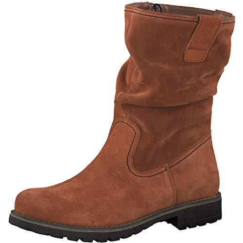 s.Oliver Damen Stiefel 26425-23, Frauen Winterstiefel, elegant Women's Women Woman Freizeit leger Winter-Boots fellboots warm,Brick,40 EU / 6.5 UK