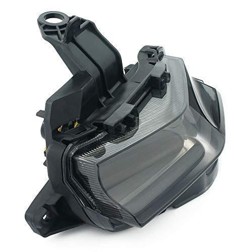 Heinmo Luz Trasera de Freno LED integrada + luz Intermitente para Yamaha NVX155 125 AEROX155 L155 Rider LED Luz Trasera luz Trasera