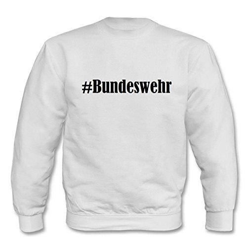 Reifen-Markt Sweatshirt Damen #Bundeswehr Größe XL Farbe Weiss Druck Schwarz