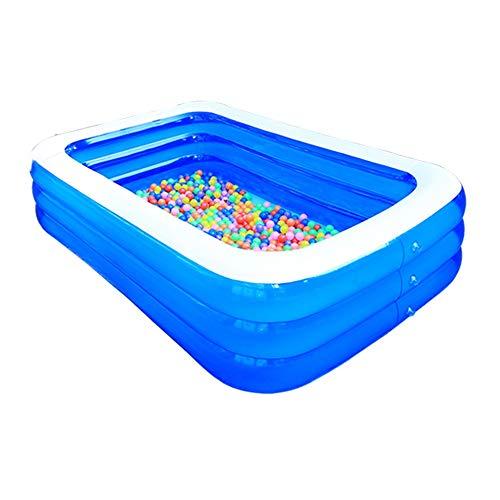 HLZY Piscina Infantil Familiar Piscina Inflable del bebé Espesado Océano Ball Pool Plegable Bañera Jardín del Patio Trasero del Parque acuático de Verano