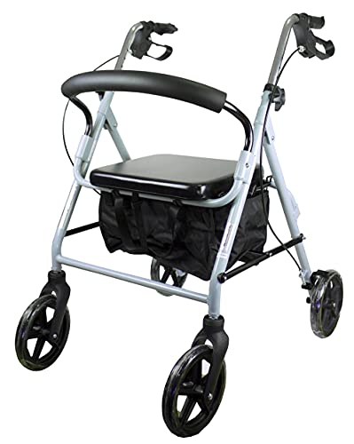 Mobiclinic, Sofía, Rollator con 4 ruedas, andador para...