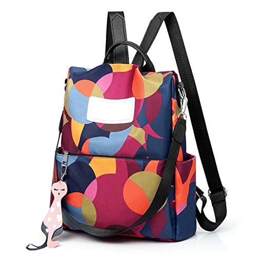 Multifunktionale Schultasche Mode Wasserdicht Oxford Anti-Diebstahl-Rucksack Bagpack Plecak Leicht Für Damen Reisetaschen Draussen Bunt