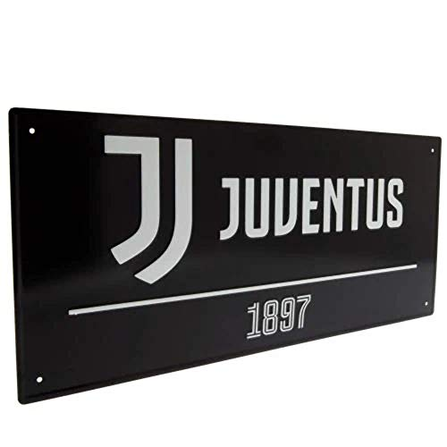 Juventus Street Sign Black
