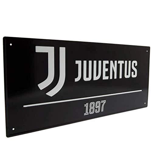 Juventus Street Sign Black