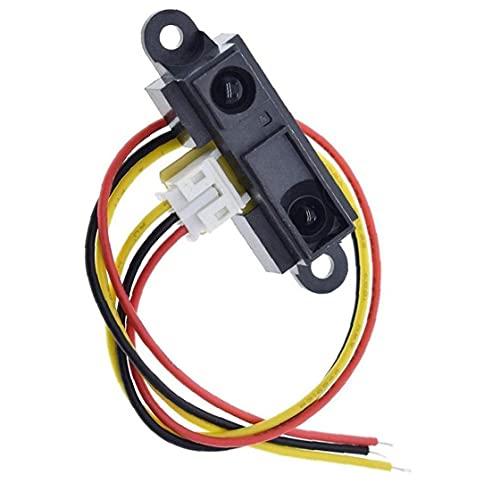 nJiaMe La Distancia del Sensor IR GP2Y0A21YK0F fotoeléctrico de detección de módulo de Sensor con Cable 10-80cm