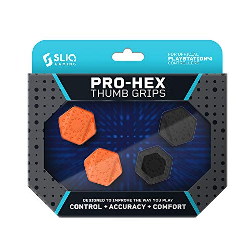 Sliq Gaming PS4 Pro-Hex Thumb Stick Grips – Playstation 4