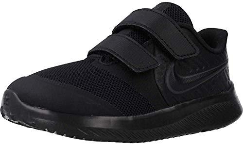Nike Star Runner 2 (TDV), Zapatillas de Gimnasia Unisex niños, Negro (Black/Anthracite/Black/Volt 003), 21 EU