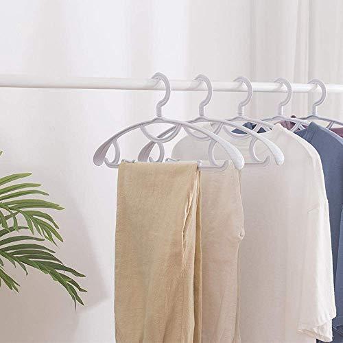 XBCDX Appendini in plastica Multifunzione Forma ad Arco Cappotto Antiscivolo T-Shirt Appendiabiti Armadio per la casa Bagno Stendibiancheria da Esterno 5 Pezzi