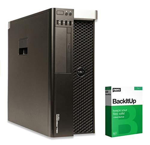 Dell Precision T3610 - Xeon E5-1620 v2 @ 3,7 GHz - 32GB RAM - 250GB SSD - DVD-ROM - Nvidia Quadro FX 3800 - Win10Pro (Zertifiziert und Generalüberholt)