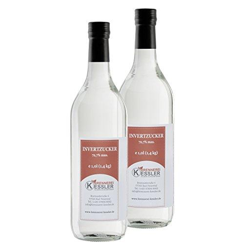 Invertzucker - Flüssigzucker 2 Liter (2,8kg) 72,7% mas.