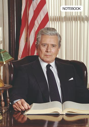 Notebook: John Forsythe Notebook 7 x 10 in, 120 Pages, Medium Ruled Notebook, Diary and Notepad Journals 17.7 X 25.4 cm