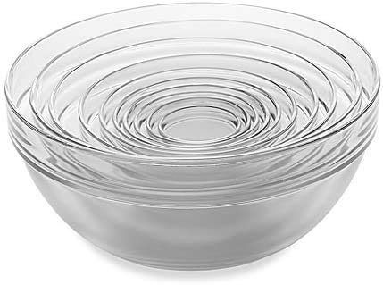 Martha Stewart Collection 10-Pc. Glass Mixing Bowl Set Now $23.79 (Was $58)