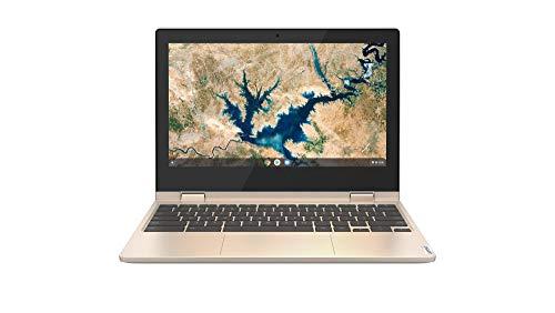 Lenovo IdeaPad Flex 3 Chromebook 29,5 cm (11,6 Zoll, 1366x768, HD, WideView, Touch) Ultraslim Notebook (Intel Celeron N4020, 4GB RAM, 64GB eMMC, Intel UHD-Grafik 600, ChromeOS) beige - 3