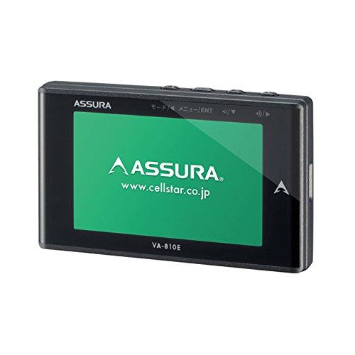 セルスター GPS内蔵 レーダー探知機CELLSTAR ASSURA(アシュラ) VA-810E