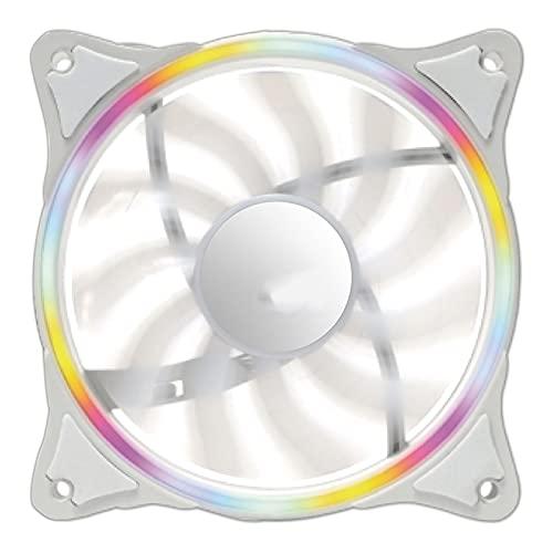 Funda de la PC Fan Cooler de Agua CPU Ventilador 120 mm T120 / 240 Agua Enfriamiento de Calor Integrado Clooer Radiador de enfriamiento LGA 115x / 2011 / AM4 (Blade Color : V240 White)