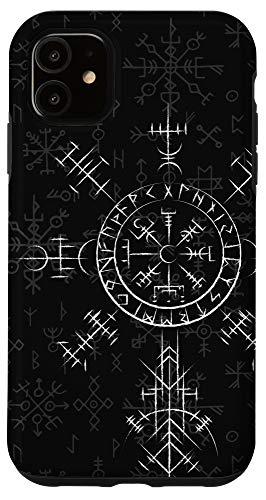 iPhone 11 Celtic Lucky Charm Viking Compass Vegvísir - Celtic Vegvisir Case