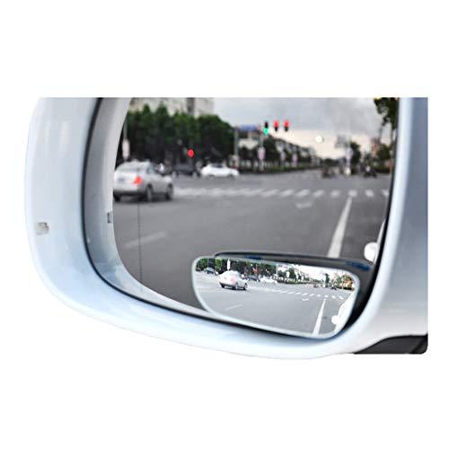 HWHCZ Toter Winkel Spiegel Winkelspiegeln Einparkhilfe Spiegel, kompatibel mit Weitwinkelspiegeln Opel Mokka, 360 ° -Drehung Eliminieren Blinde Flecken, 2-Pack (Size : D)