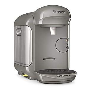 Bosch TAS1406 Tassimo Vivy 2 - Macchina per capsule XS 1300, in plastica, colore: grigio sabbia/antracite