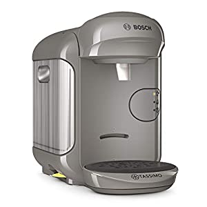 Bosch Tassimo Vivy 2 Cafetera cápsulas, 1300 W, 0.7 litros, Aluminio, Gris Arena/Antracita