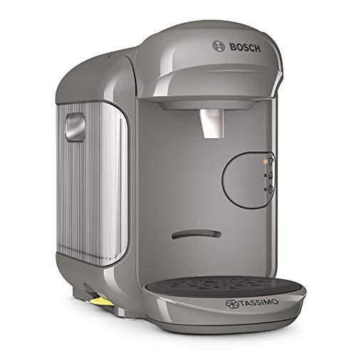 Bosch TAS1406 Tassimo Vivy2 Kapselmaschine, über 70 Getränke, vollautomatisch, geeignet für alle Tassen, kompakte Größe, 1300 W, grau/anthrazit