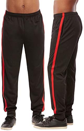 ToBeInStyle - Pantalón deportivo para hombre -  Rojo -  X-Large