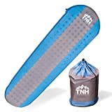 TNH Outdoors Premium Self Inflating Sleeping Pad Lightweight Foam...