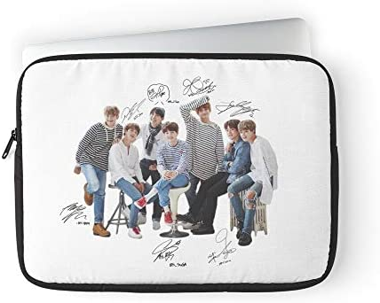 BTS Korean Bangtan Jungkook Kpop Pop K Jhope Monster Rap Laptop Sleeve Case Cover Handbag for product image