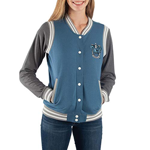 Harry Potter Ravenclaw Varsity Jacket For Juniors-Small