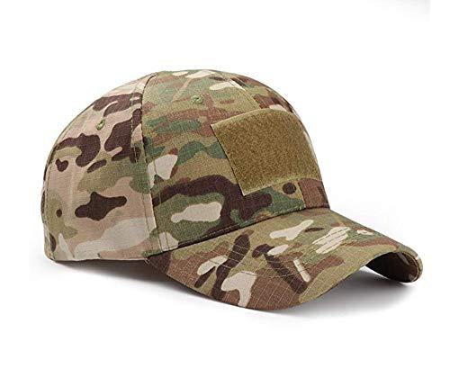 ZARRS Baseballkappen Camo,Baseball Cap Camouflage Hut Unisex Damen Herren Baseball Kappen Multicam Style Caps für Jagd Angeln Camping Werden Sport