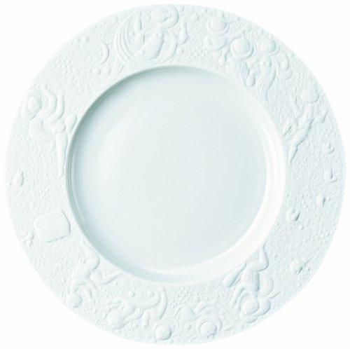 Rosenthal - Zauberflöte Frühstücksteller Weiß Ø 22 cm Design: Björn Wiinblad