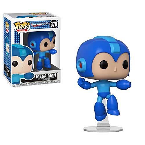 Funko 33637 POP Vinyl: Games: MegaMan: Mega Man (Jumping)