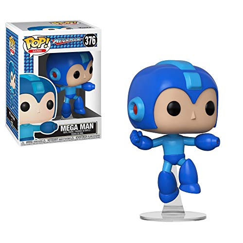 Pop Mega Man Jumping Vinyl Figure