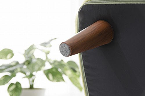 セルタン日本製ポケットコイルカウチソファーSUICAスイカ二人掛けテクノグリーン背部リクライニングA616p-588GRN