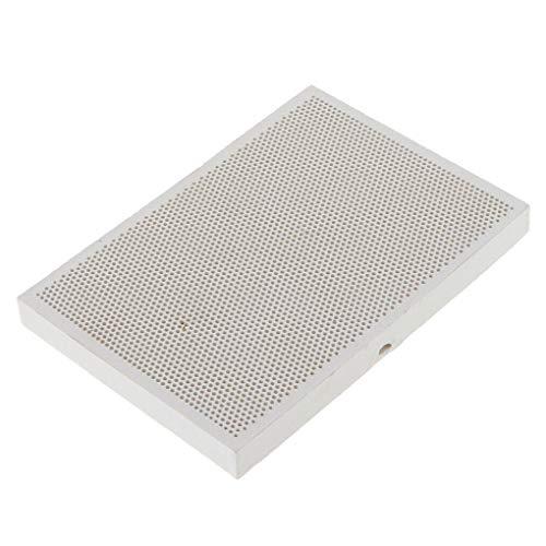 heacker Céramique Thermique Baffle Honeycomb Conseil résistant au feu des Briques réfractaires Bijoux Outil de Traitement