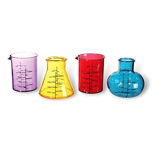 Vasos chupito/Shooter - Set de Química/Chemestry Set