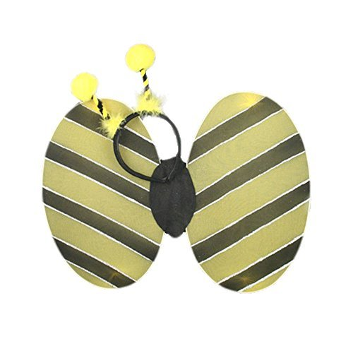 Bumble Bee Set Of wings and Deeley Bopper. Size 35 x 25 x 2.8 centimeters. i9232 (Déguisement)