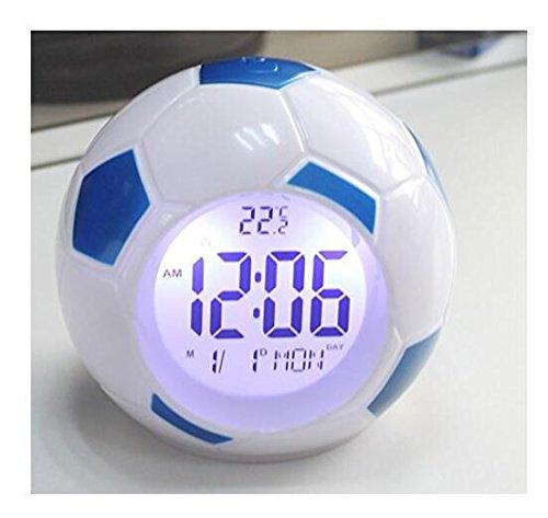 gift ideas for soccer fans - foootball soccer clock