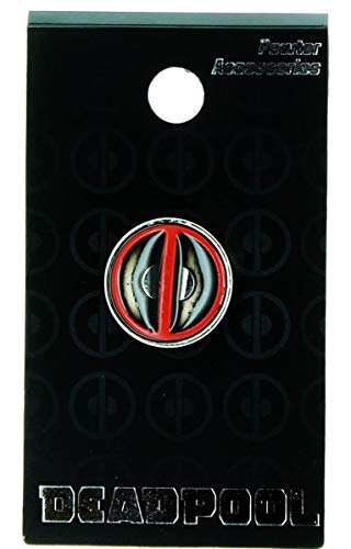 Marvel Deadpool Logo Colored Lapel Pin