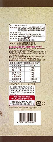 『不二家 ピーナッツ習慣(カカオ70%)10P 216g ×12袋』の1枚目の画像