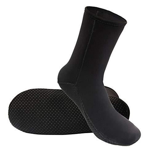 Calcetines térmicos de neopreno de 3 mm de grosor, antideslizantes, para hombres y mujeres, para buceo, buceo, natación, surf, navegación, kayak, agua, calcetines