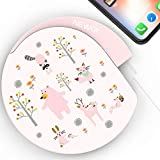 M MIMMU Qi Fast Charge Wireless Charger Pad Compatible with iPhone X / 8/8 Plus, iPhone XR/XS/XS Max and Samsung Galaxy Note8 / S8 / S8+/S9/ S9+/ S10 /S10+/S10 and More (No Adapter)