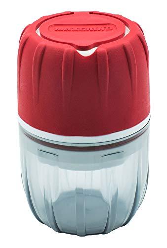 MAXGRIND™ Pill Crusher and Grinder (Red) Cutter Splitter Powder Medicine Pulverizer