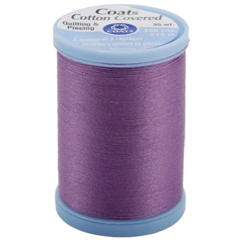 Coats Thread & Zippers S925.3350 Cotton Covered Quilting & Piecing Thread, Violet, 250 yd