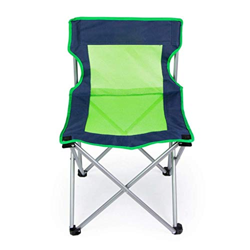 showyow Silla Plegable, Silla de Camping portátil, Silla de Barbacoa de Playa al Aire Libre, Silla de Malla Transpirable, Viaje con Bolsa de Almacenamiento.