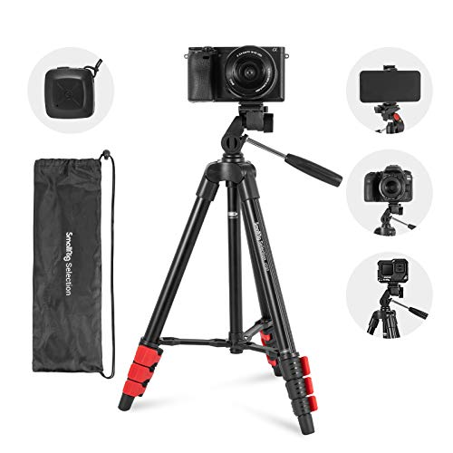 Camera Tripod, SmallRig Selection Cell Phone Tripod with Bluetooth Remote and Phone...