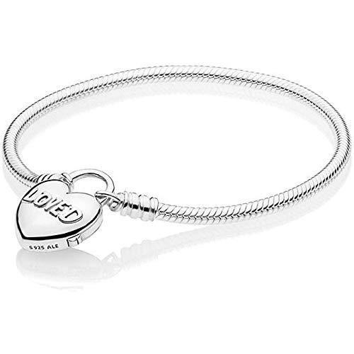 Pandora Pulsera charm Mujer plata - 597806-17