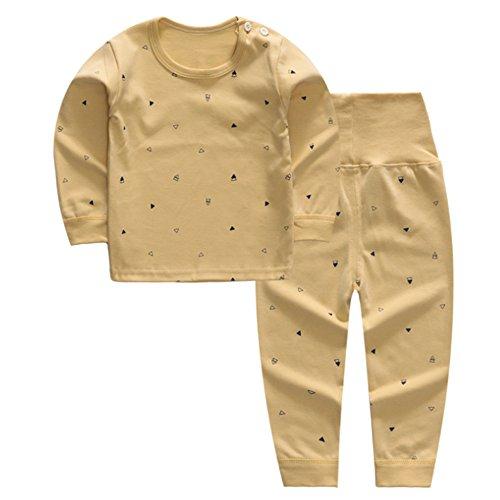 KINDOYO Lindo Impresión Pijamas Set Para Unisexo Niño Minions, Pijama para Niños, 3 Estilo