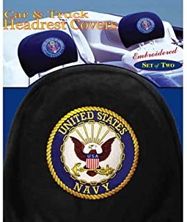 US Navy Headrest Covers (Pair)